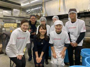 NHK「おはよう関西」にて餅つきの様子を取材していただきました!